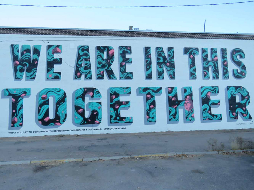 We Are In This Together Mural