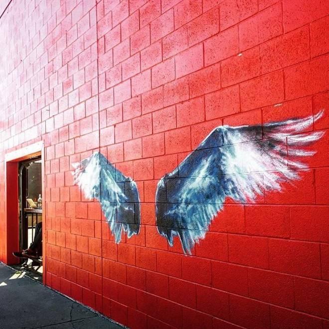 Wings Mural