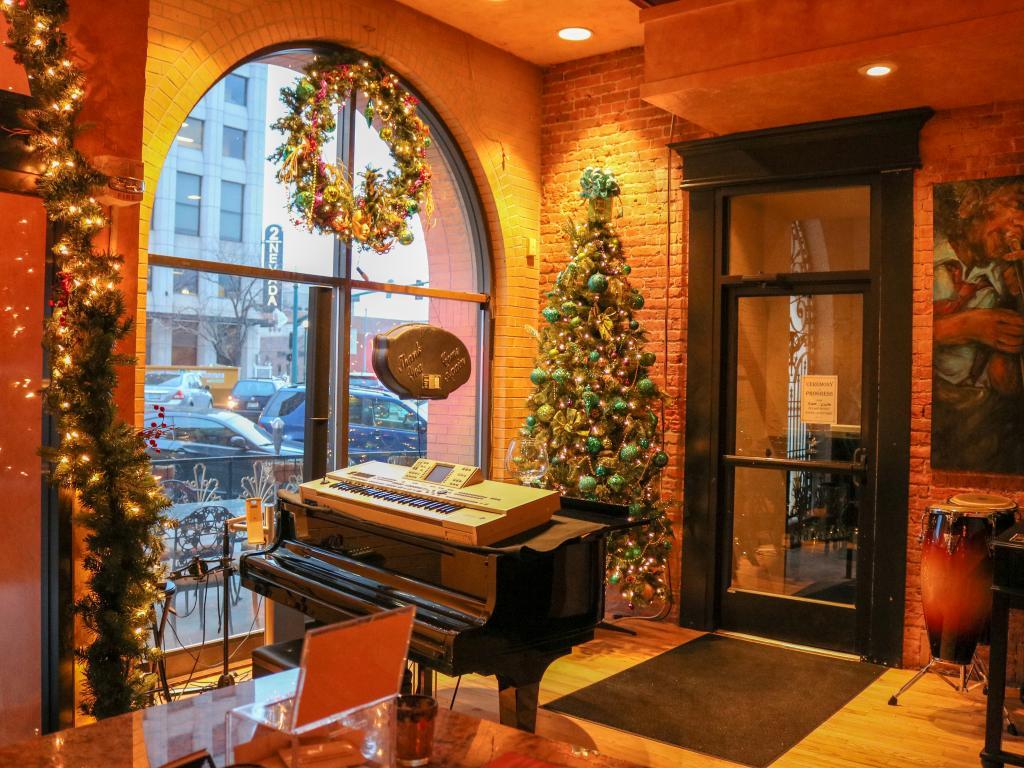 restaurants open during christmas