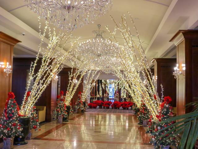 Hotel Holiday Decor Displays Visit Colorado Springs Blog