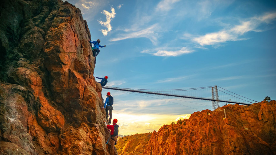 royal gorge climbing