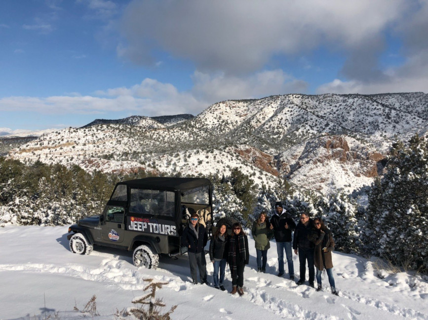 winter jeep tour
