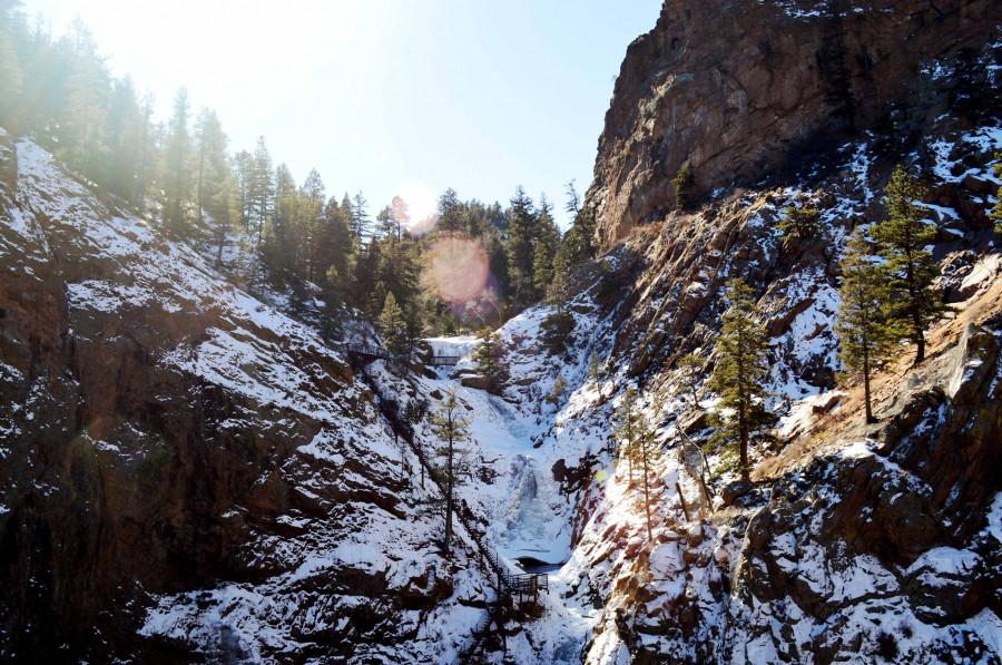 seven falls winter