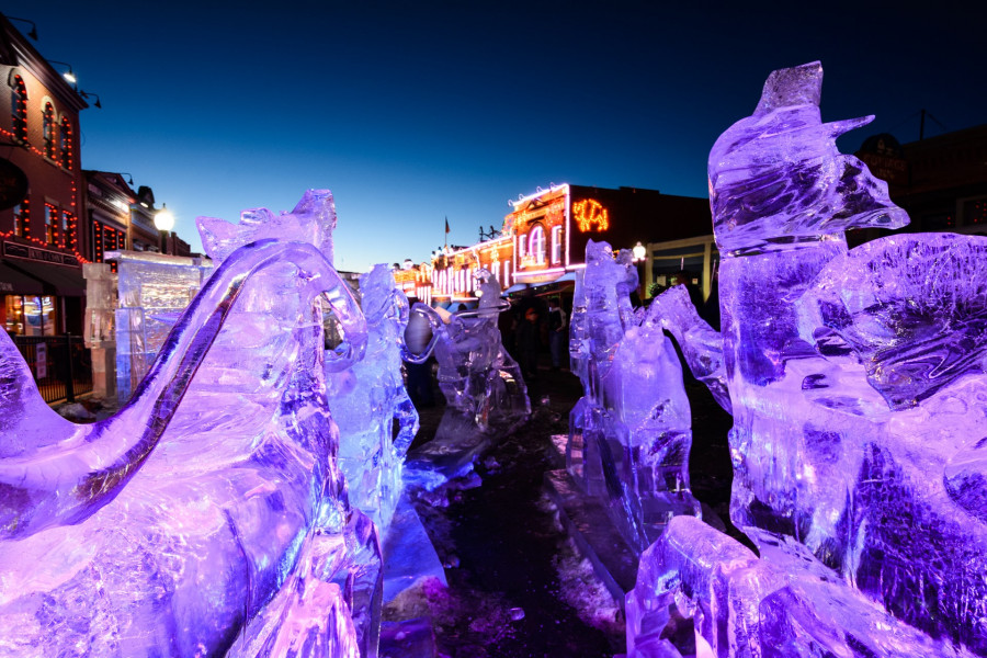 ice sculptures co springs