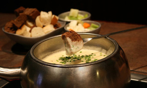 mona lisa fondue