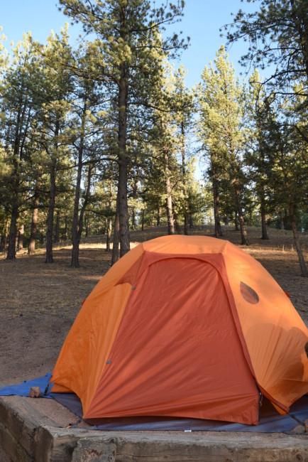 camping near pikes peak
