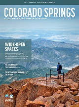 Colorado Springs Visitor Guide Cover