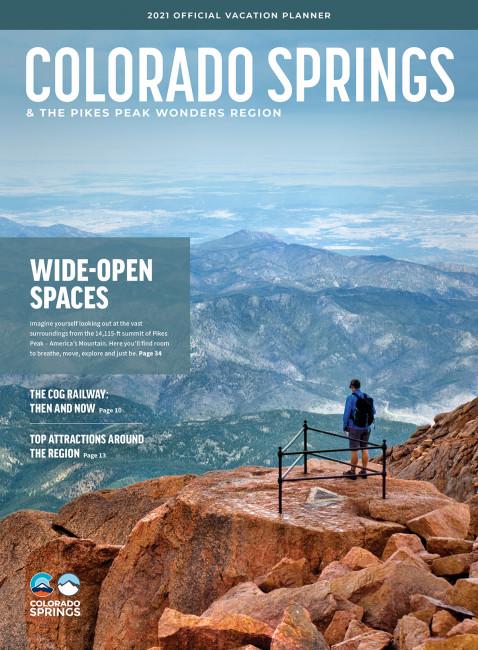 Colorado Springs Visitor Guide Cover