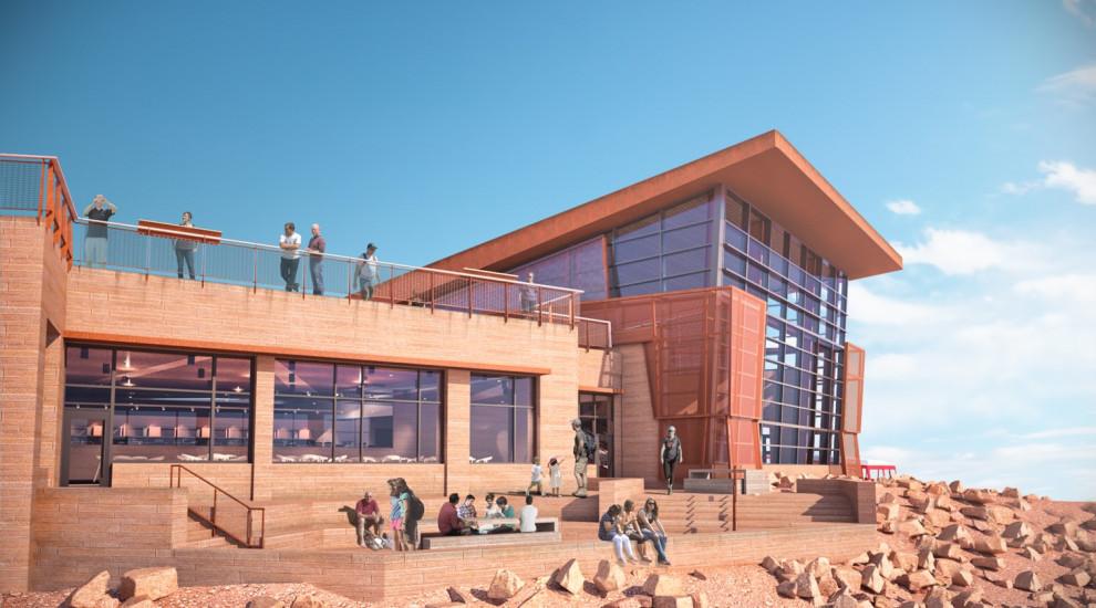 Exterior of Pikes Peak Summit Complex
