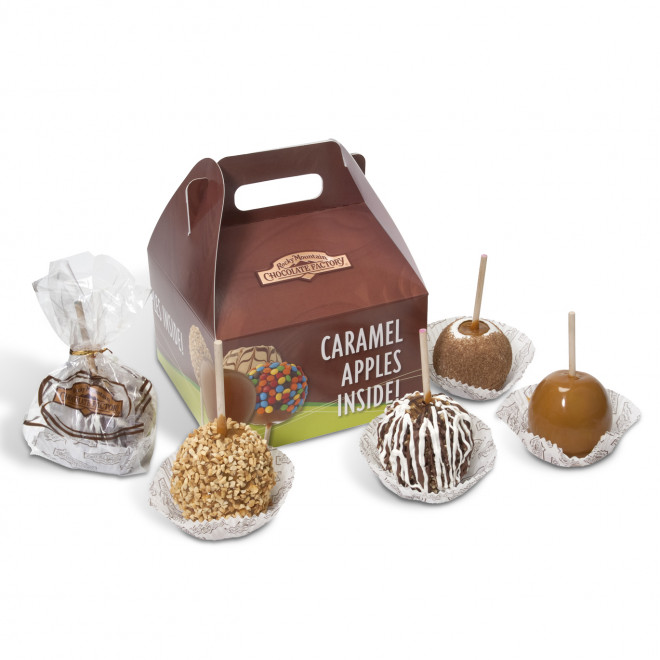 Rocky Mountain Chocolate Caramel Apples