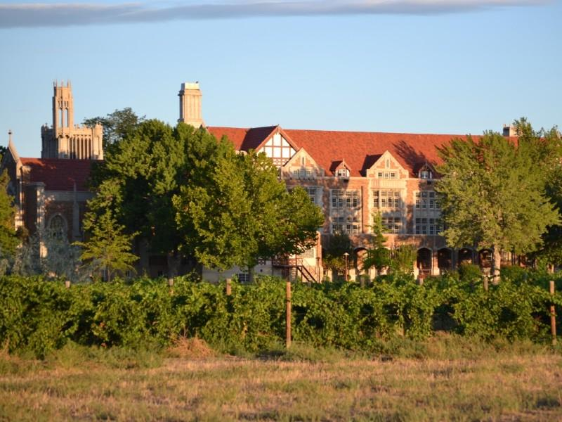 View of the Winery at Holy Cross Abbey