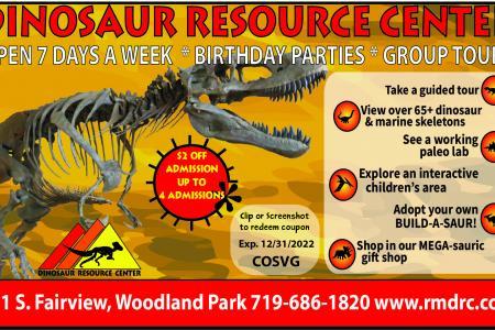 Dinosaur Resource Center 2021