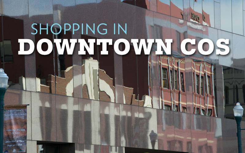 Shopping in Downtown Colorado Springs