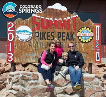 Pikes Peak Summit Photo Opp