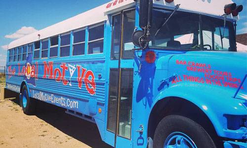 Local Motive Party Bus