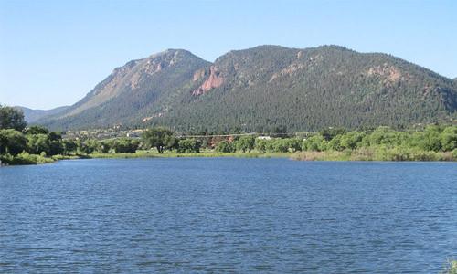 Palmer Lake near Colorado Springs