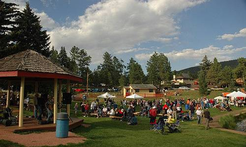 old-fashioned 4th of July celebration Colorado Springs