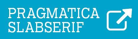 Font - Pragmatica Slabserif