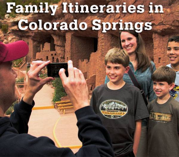 Family Vacation Itinerary Colorado Springs