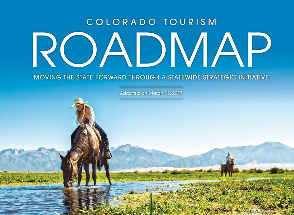 CVB Event Celebrates Banner 2016 and Colorado Tourism Offices Road